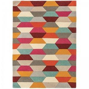 Vloerkleed Funk - Honeycomb Bright - 140 x 200