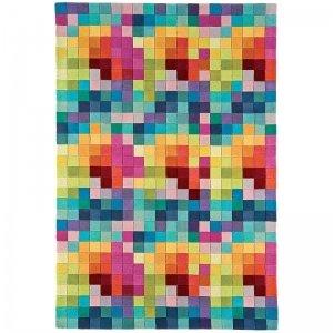Vloerkleed Funk - Multi Boxes - 120 x 170