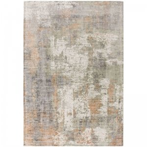 Vloerkleed Gatsby - Coral - Grijs - 160 x 230