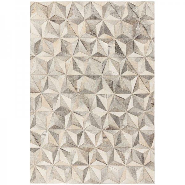 Vloerkleed Gaucho Rug - Facet Grey - Creme - 200 x 300