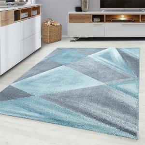 Vloerkleed Gloss - Blauw - 200 x 290