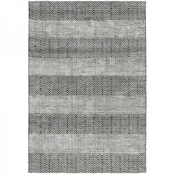 Vloerkleed Ives - Grey - Grijs - 100 x 150