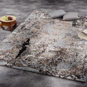 Vloerkleed Juwel Liray - Bruin - 160 x 230