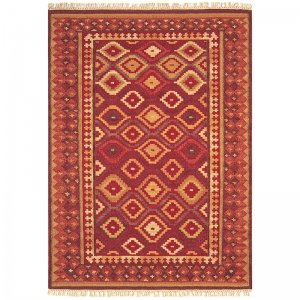 Vloerkleed Kelims Keli - Aladdin - Bruin - 160 x 230