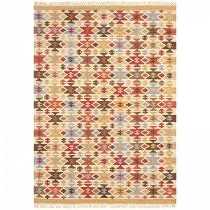 Vloerkleed Kelims Keli - Jasmine - Bruin - 120 x 170