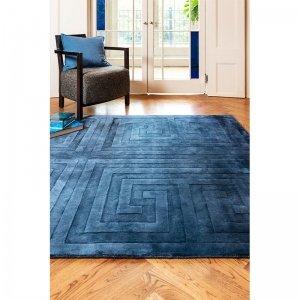 Vloerkleed Kingsley Rug - Blue - Blauw - 120 x 170