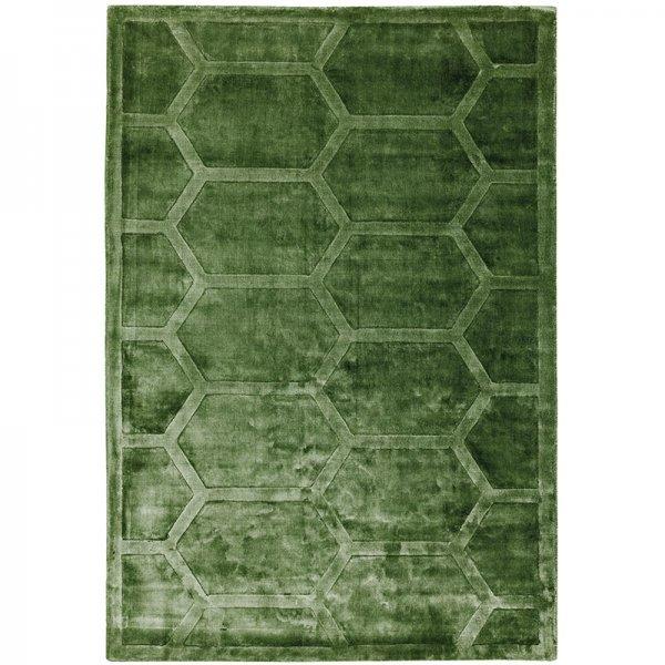 Vloerkleed Kingsley Rug - Green - Groen - 120 x 170