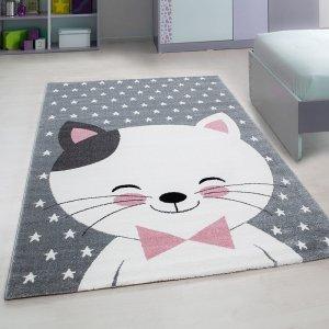 Vloerkleed Kitty - Roze - 160 x 230