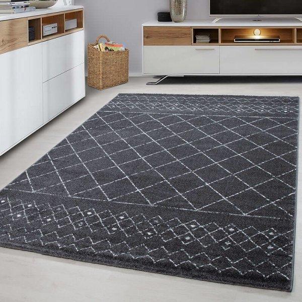 Vloerkleed - Lines - Grijs - 120 x 170
