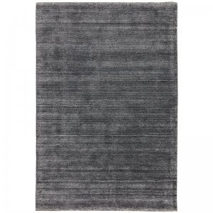 Vloerkleed Linley Rug - Charcoal - Antraciet - 120 x 180