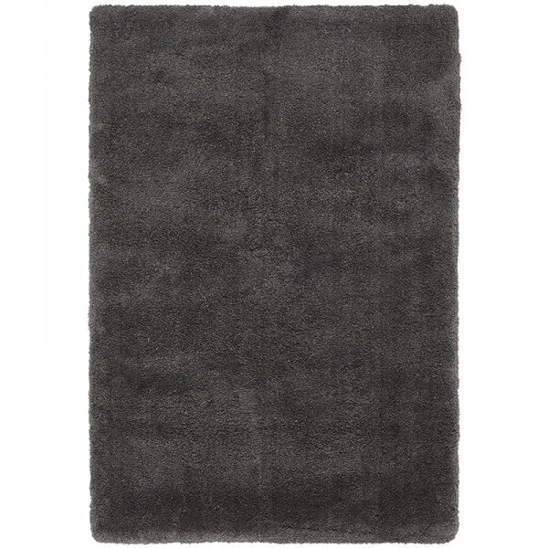 Vloerkleed Lulu Soft Touch - Charcoal - Antraciet - 160 x 230