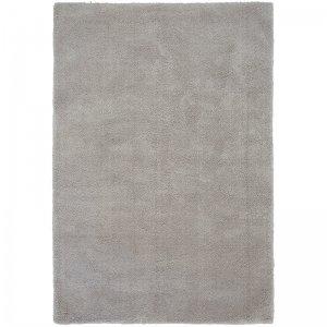 Vloerkleed Lulu Soft Touch - Silver - Zilver - 80 x 150