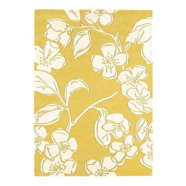 Vloerkleed Matrix - Devore Yellow - 120 x 170