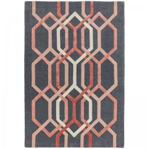 Vloerkleed Matrix Hexagon - Charcoal - 160 x 230