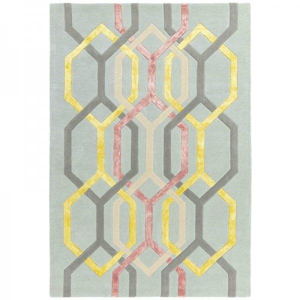 Vloerkleed Matrix Hexagon - Silver - 160 x 230
