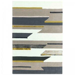 Vloerkleed Matrix Rhombus - Mustard - 160 x 230