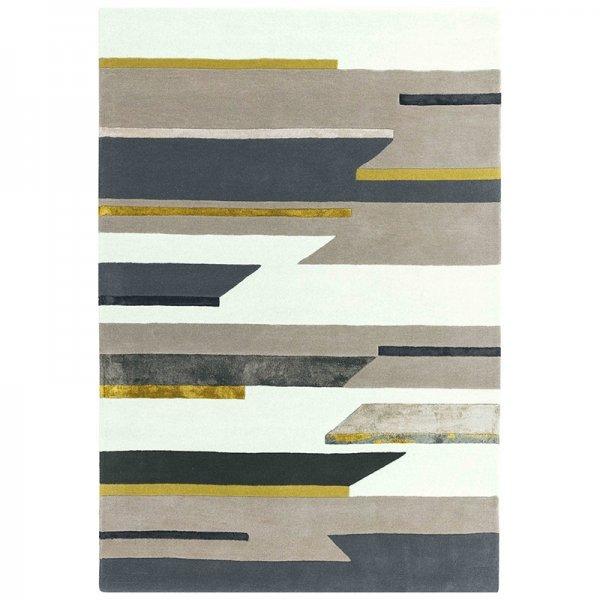 Vloerkleed Matrix Rhombus - Mustard - 120 x 170