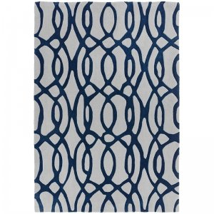 Vloerkleed Matrix Wire - Blue - 120 x 170