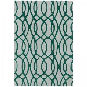 Vloerkleed Matrix Wire - Green - 160 x 230