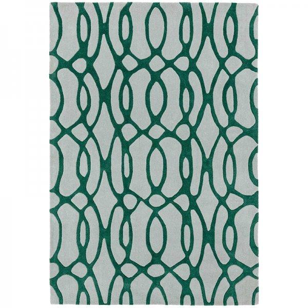 Vloerkleed Matrix Wire - Green - 200 x 300