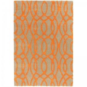 Vloerkleed Matrix Wire - Orange - 160 x 230