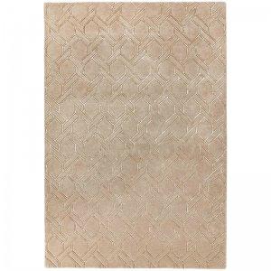 Vloerkleed Nexus - Fine Lines Sand/Sand - 120 x 170