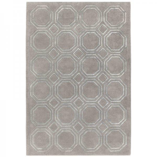 Vloerkleed Nexus - Octagon Silver - 160 x 230