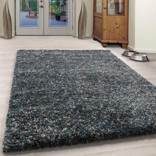 Vloerkleed Obe - Blauw - 80 x 150
