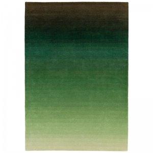 Vloerkleed Ombre Runner - Green - Groen - 200 x 290
