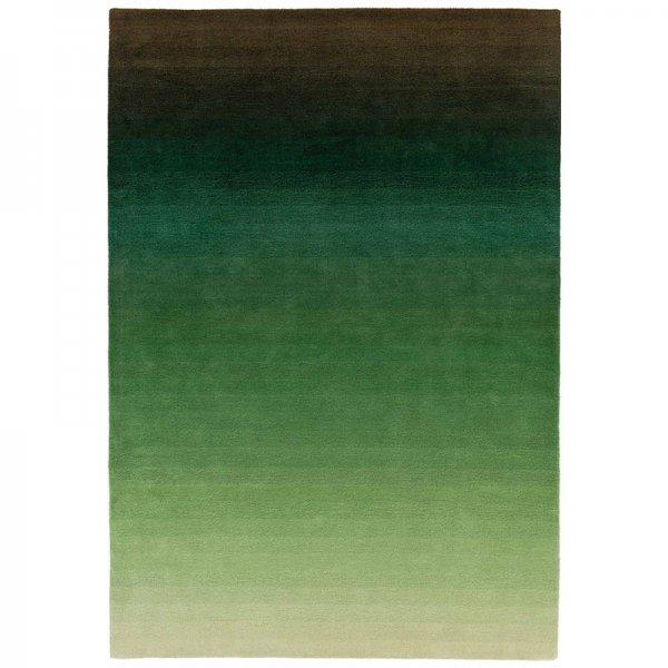 Vloerkleed Ombre Runner - Green - Groen
