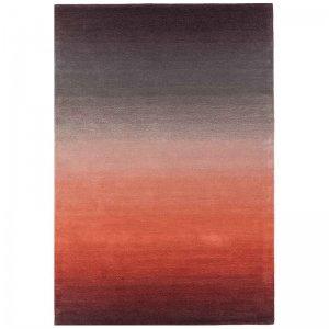 Vloerkleed Ombre Runner - Rust - Rood - 120 x 170