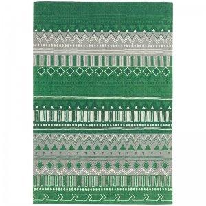 Vloerkleed Onix - Tribal Mix Green - Groen - 120 x 170
