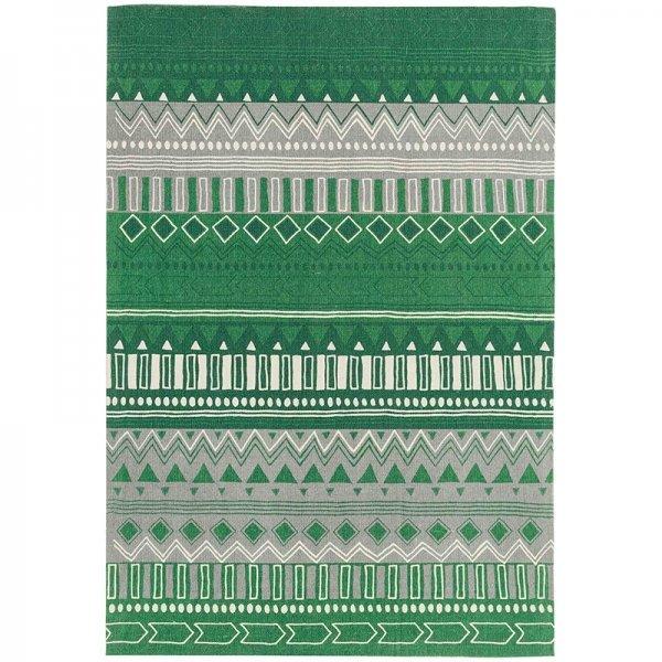 Vloerkleed Onix - Tribal Mix Green - Groen - 160 x 230