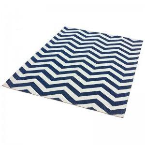 Vloerkleed Onix - Zig Zag Blue - Blauw - 120 x 170