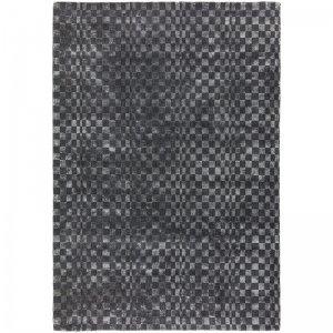 Vloerkleed Oska - Charcoal - Antraciet - 120 x 170