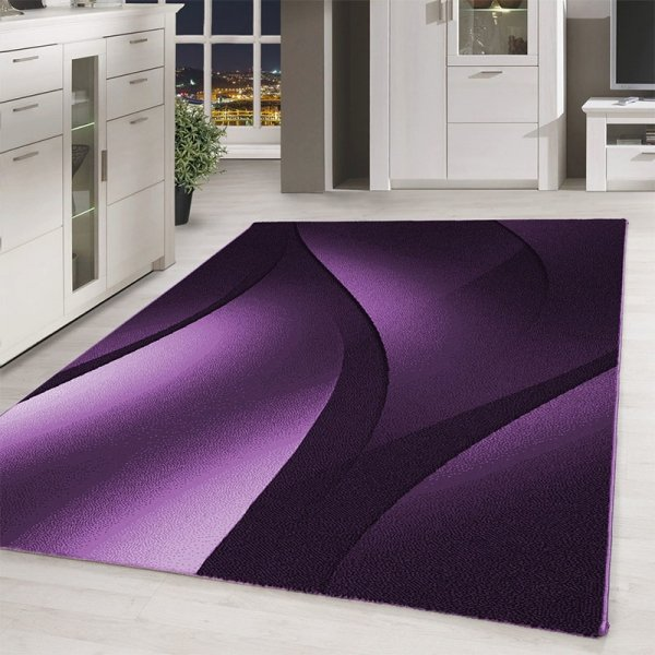 Vloerkleed Otis - Rechthoek - Paars - 160 x 230