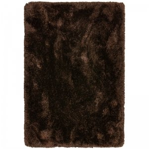 Vloerkleed Plush - Dark Chocolate - Bruin - 200 x 300