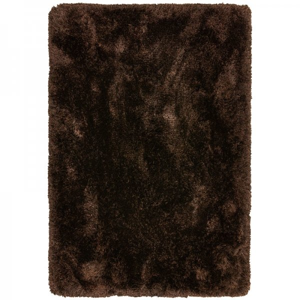 Vloerkleed Plush - Dark Chocolate - Bruin - 70 x 140