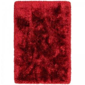 Vloerkleed Plush - Red - Rood - 120 x 170