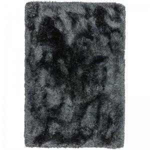 Vloerkleed Plush -Slate - Antraciet - 120 x 170