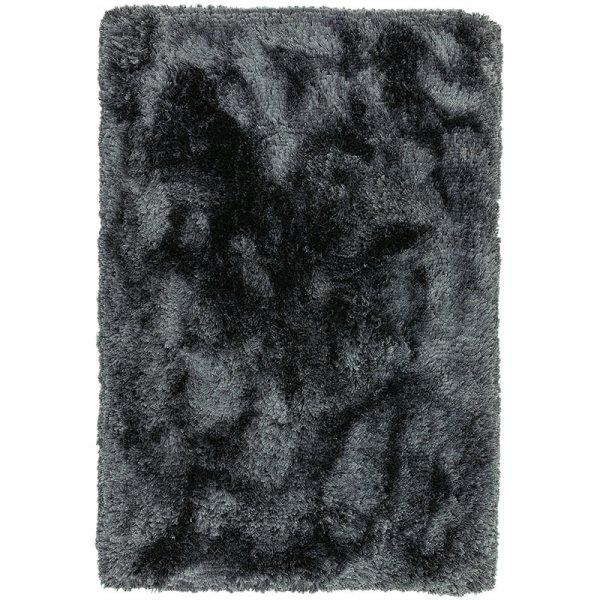Vloerkleed Plush -Slate - Antraciet - 70 x 140