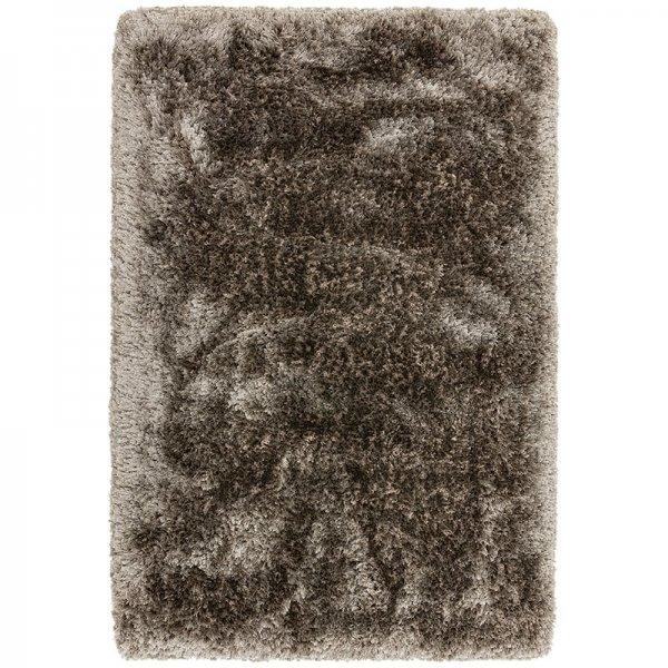 Vloerkleed Plush - Zinc - Bruin - 200 x 300