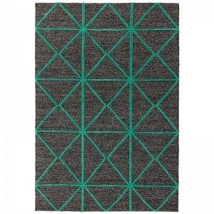 Vloerkleed Prism Rug - Green - Rood - 120 x 170