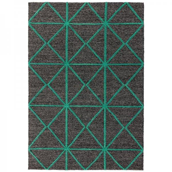 Vloerkleed Prism Rug - Green - Rood - 200 x 290