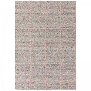 Vloerkleed Prism Rug - Pink - Grijs - 200 x 290