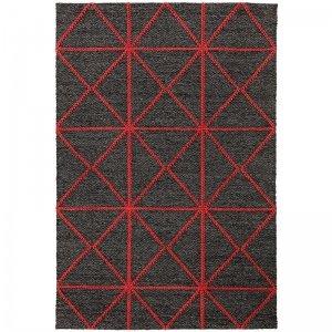 Vloerkleed Prism Rug - Red - Rood - 120 x 170
