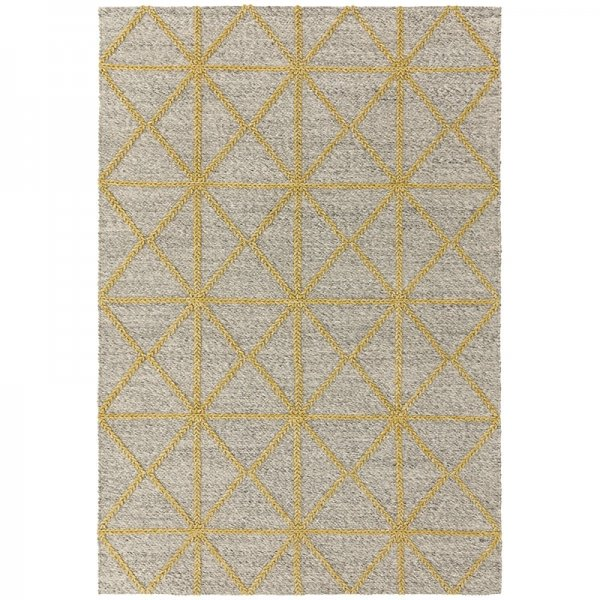 Vloerkleed Prism Rug - Yellow - Geel - 160 x 230