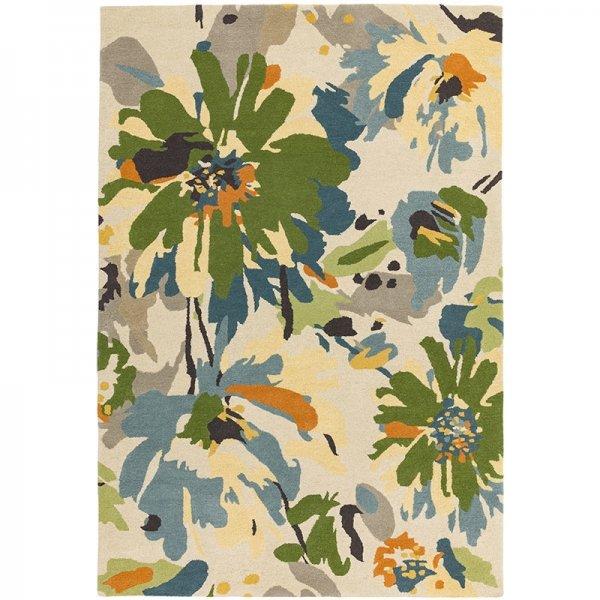 Vloerkleed Reef Floral - Groen Multi - 160 x 230