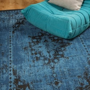Vloerkleed Revive - Blauw - 200 x 290
