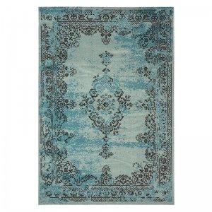 Vloerkleed Revive - Turquoise - Blauw - 200 x 290
